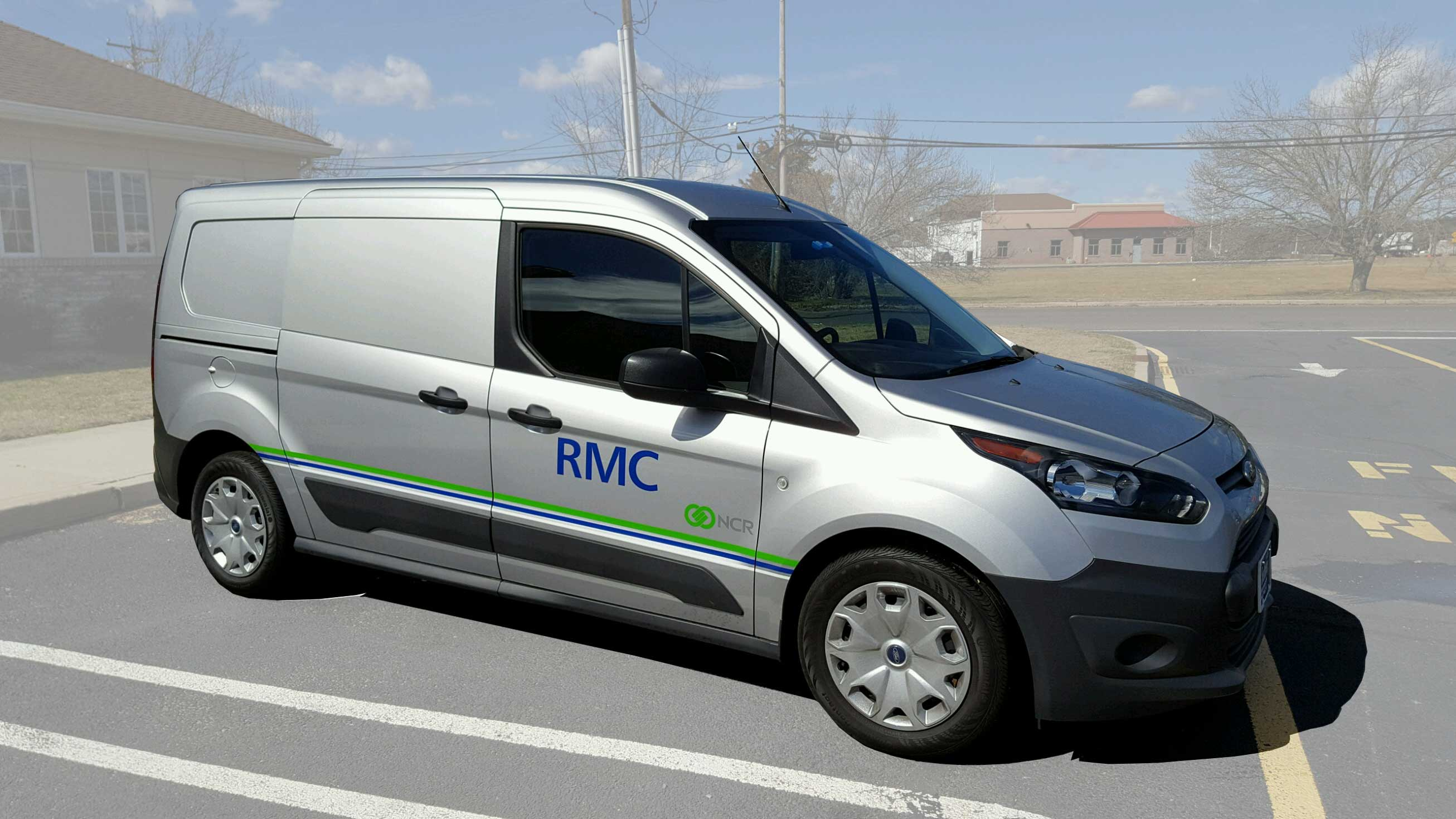 NCR service company, RMC service van
