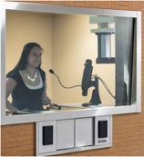 ATM Service NJ, Teller shown at financial institution teller window providing customer excellent service